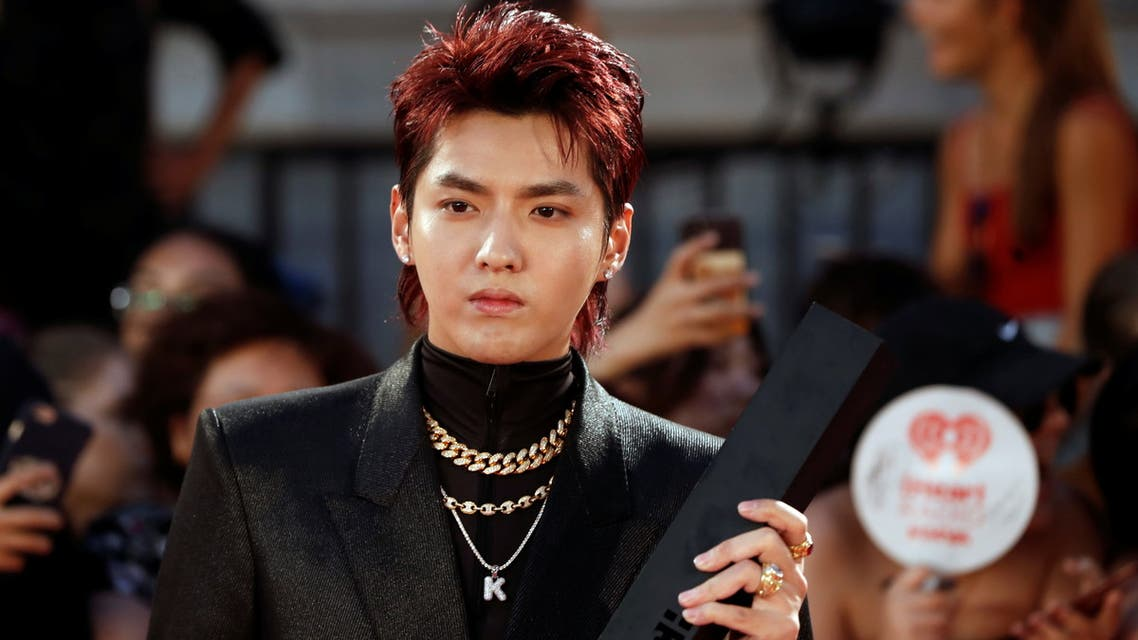 Kris Wu arrives at the iHeartRadio MuchMusic Video Awards (MMVA) in Toronto, Ontario, Canada August 26, 2018. (Reuters)