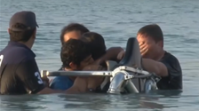 Viral video appears to show Dubai crown prince help rescue drowning friend