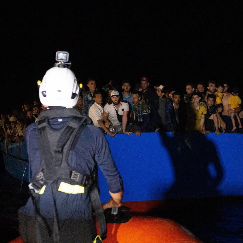 Nearly 400 migrants picked up off Tunisia coast by two rescue ships