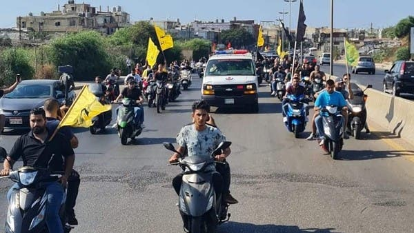 Three killed in ambush during a Hezbollah's militant funeral south of Beirut