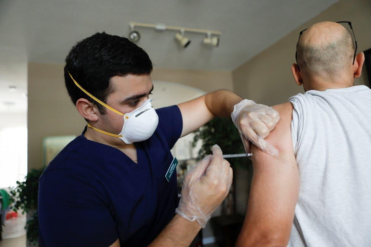 من حملة التطعيم ضد كورونا في فلوريدا (أرشيفية)
