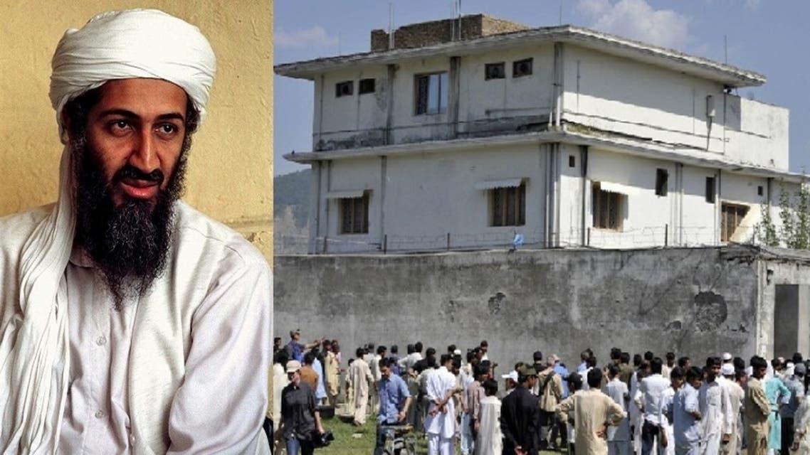 بن لادن والبيت الذي كان فيه