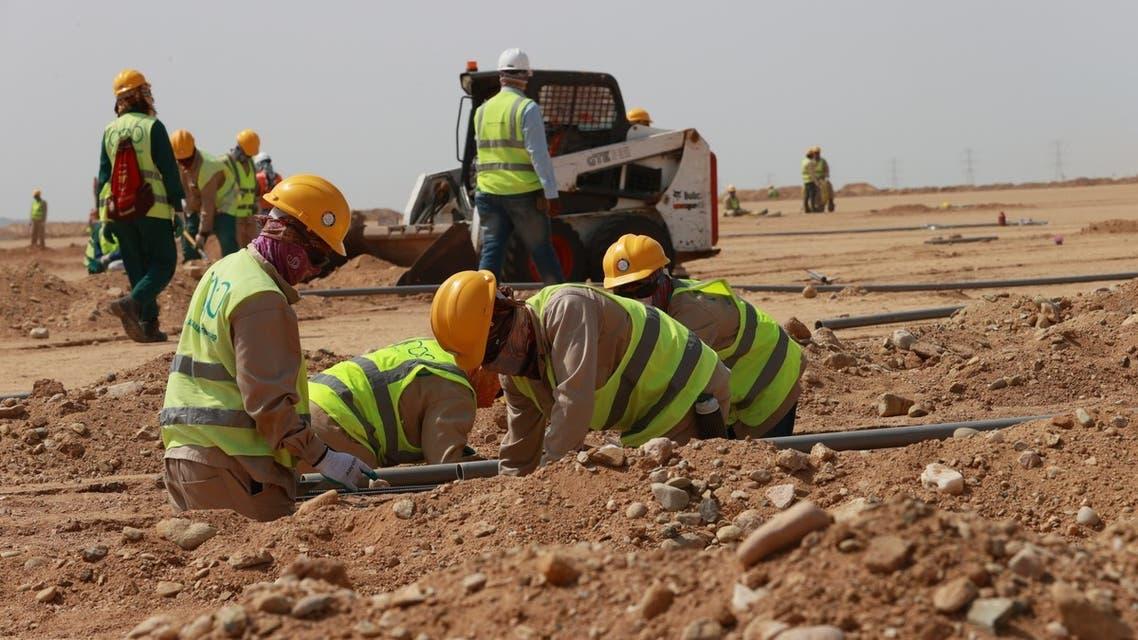 الأعمال في مشروع البحر الأحمر