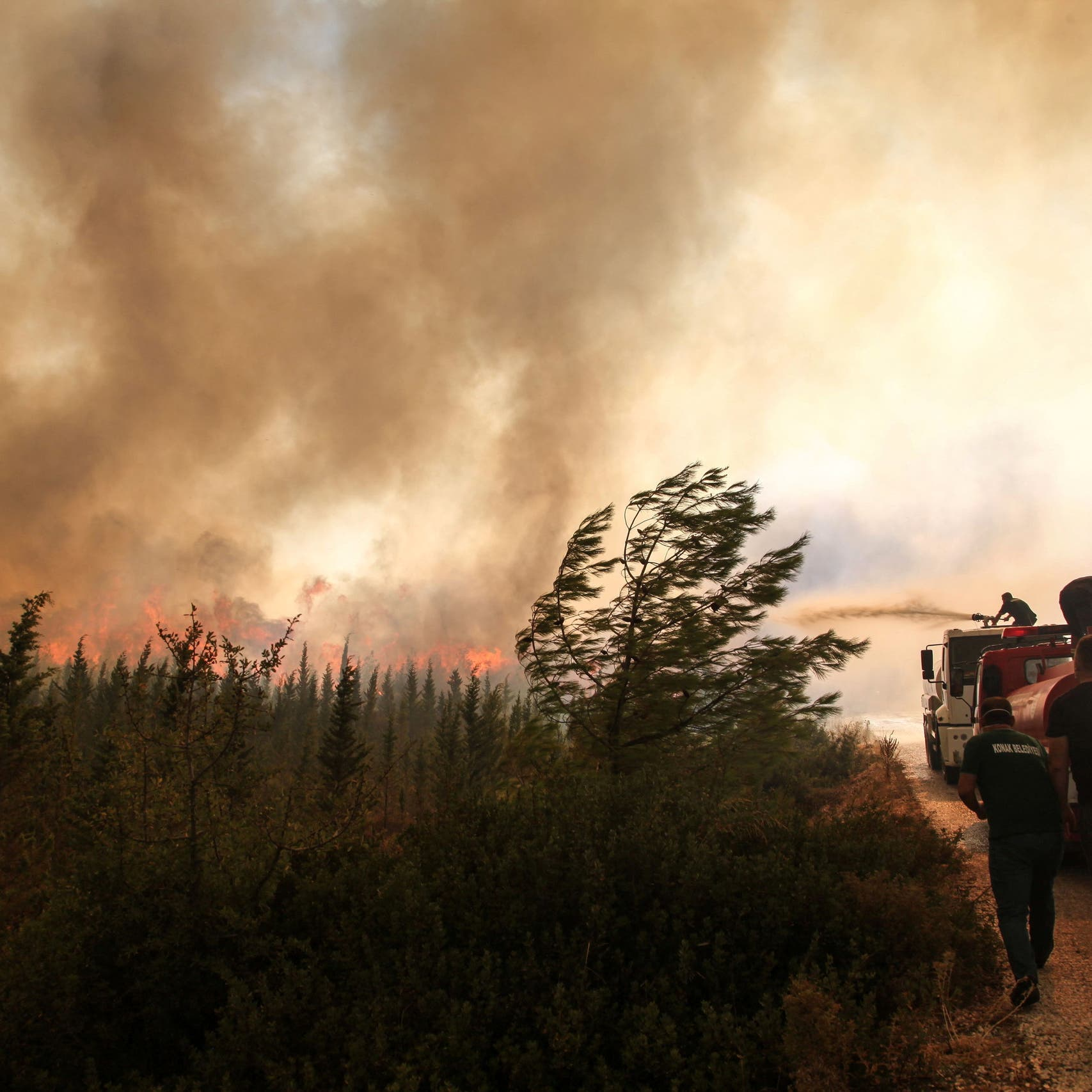 Turkey battles wildfires for sixth day; 10,000 are evacuated