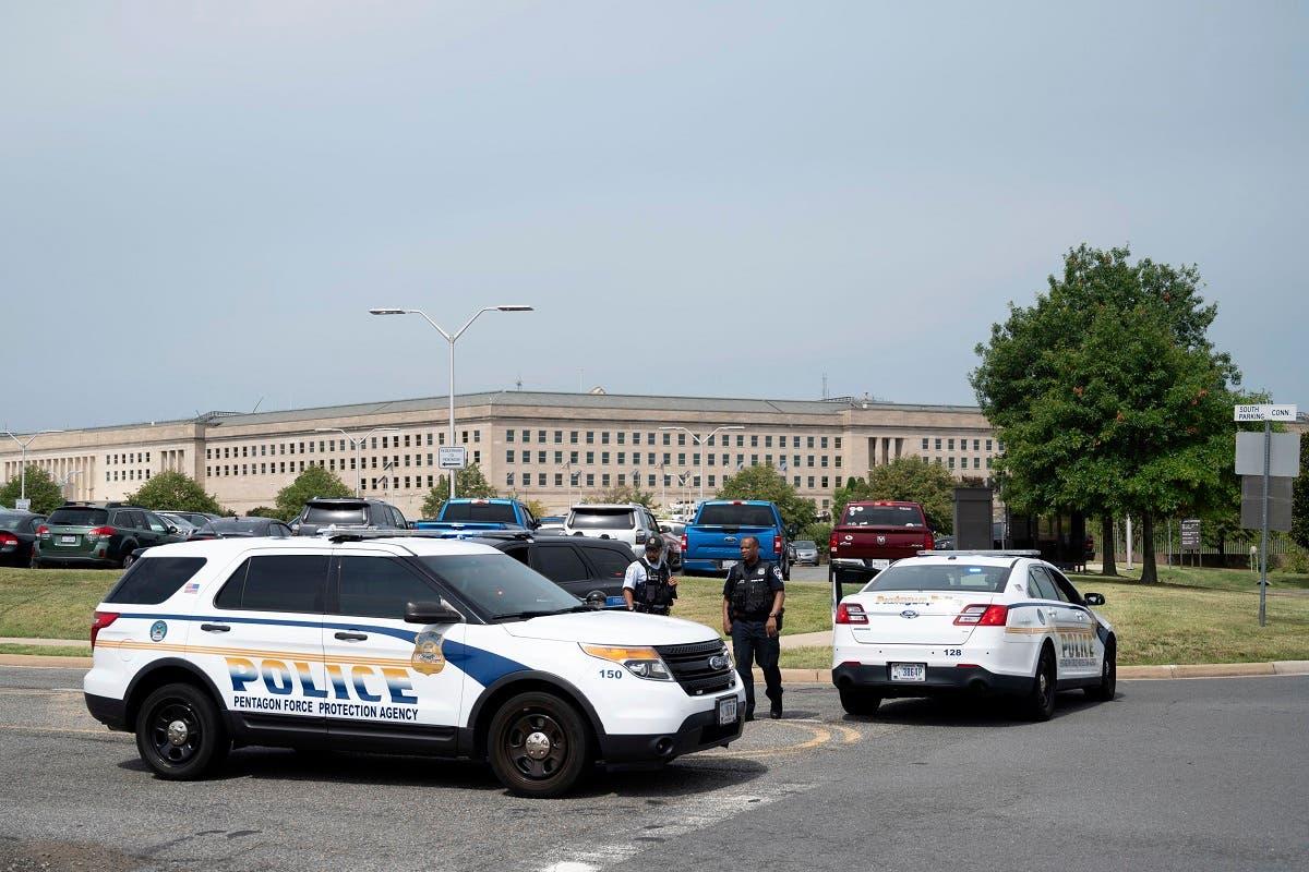 الشرطة تمنع الدخول إلى مبنى البنتاغون