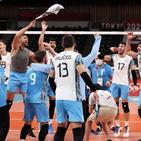 والیبال المپیک؛ حذف تلخ لهستان از نیمهنهایی و ادامه شگفتیسازی آرژانتین