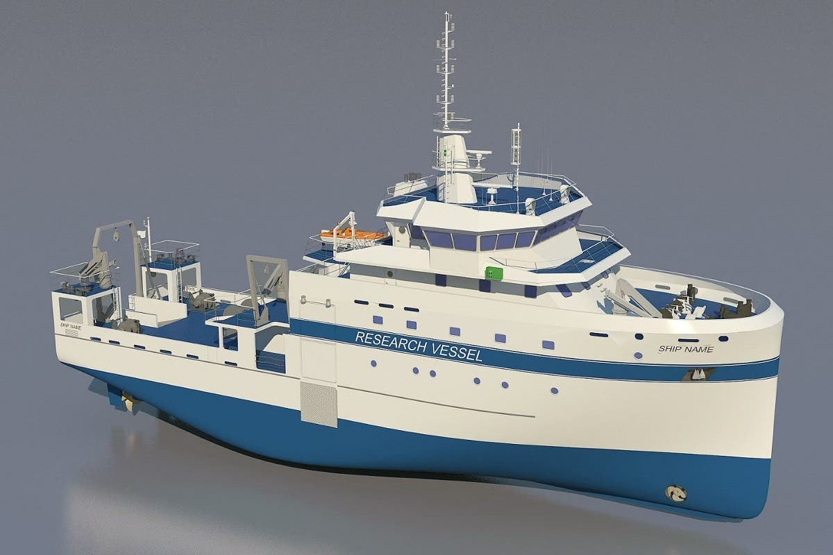 The vessel, which will be manned by up to 30 personnel, will have integrated functions to complete comprehensive marine and fisheries surveys. (WAM)