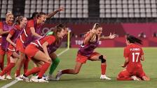 فوتبال المپیک؛ بانوان کانادا و سوئد به دیدار پایانی صعود کردند