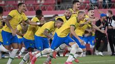 صعود دشوار برزیل و اسپانیا به فینال رقابتهای فوتبال المپیک توکیو