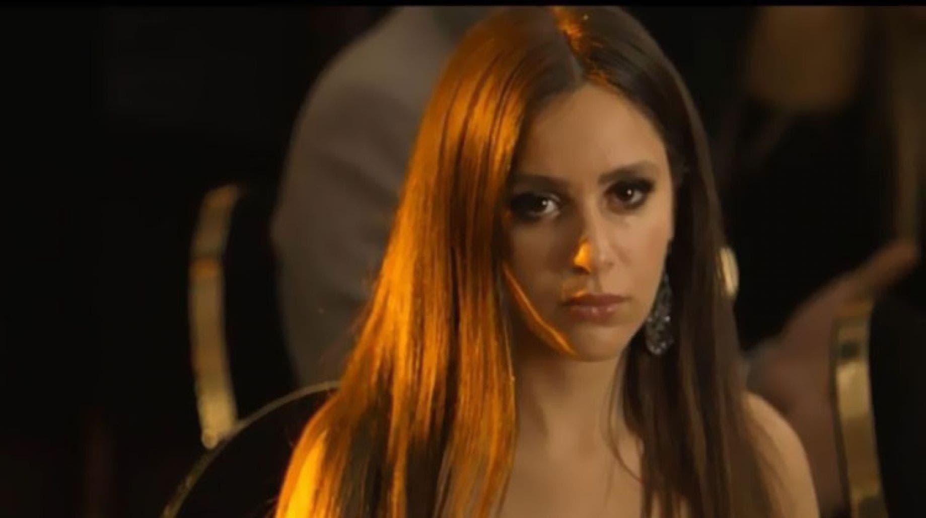 جميلة عوض في مشهد من المسلسل