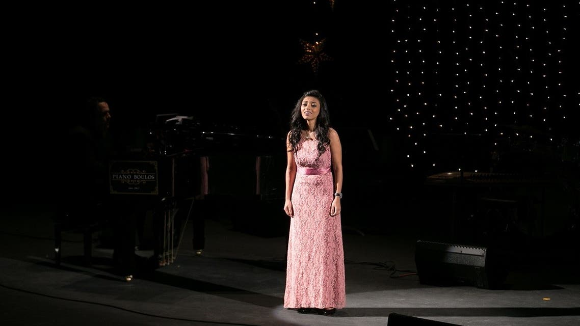 Egyptian soprano Laura Mekhail who has been awarded the Andrea Bocelli Foundation – Community Jameel Scholarship. (Supplied)