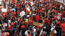 Several thousand protesters hit streets of Ghana's capital