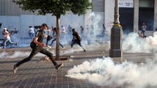 Water cannon, tear gas fired at protesters near Lebanon parliament