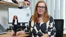Barbie unveils doll of AstraZeneca COVID-19 vaccine maker