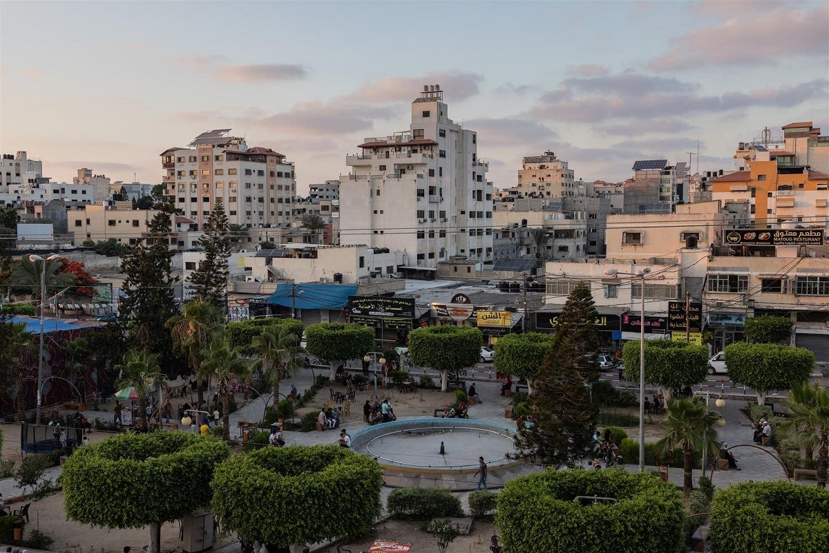 A general view of Gaza city. (Thomson Reuters Foundation/Stefanie Glinski)
