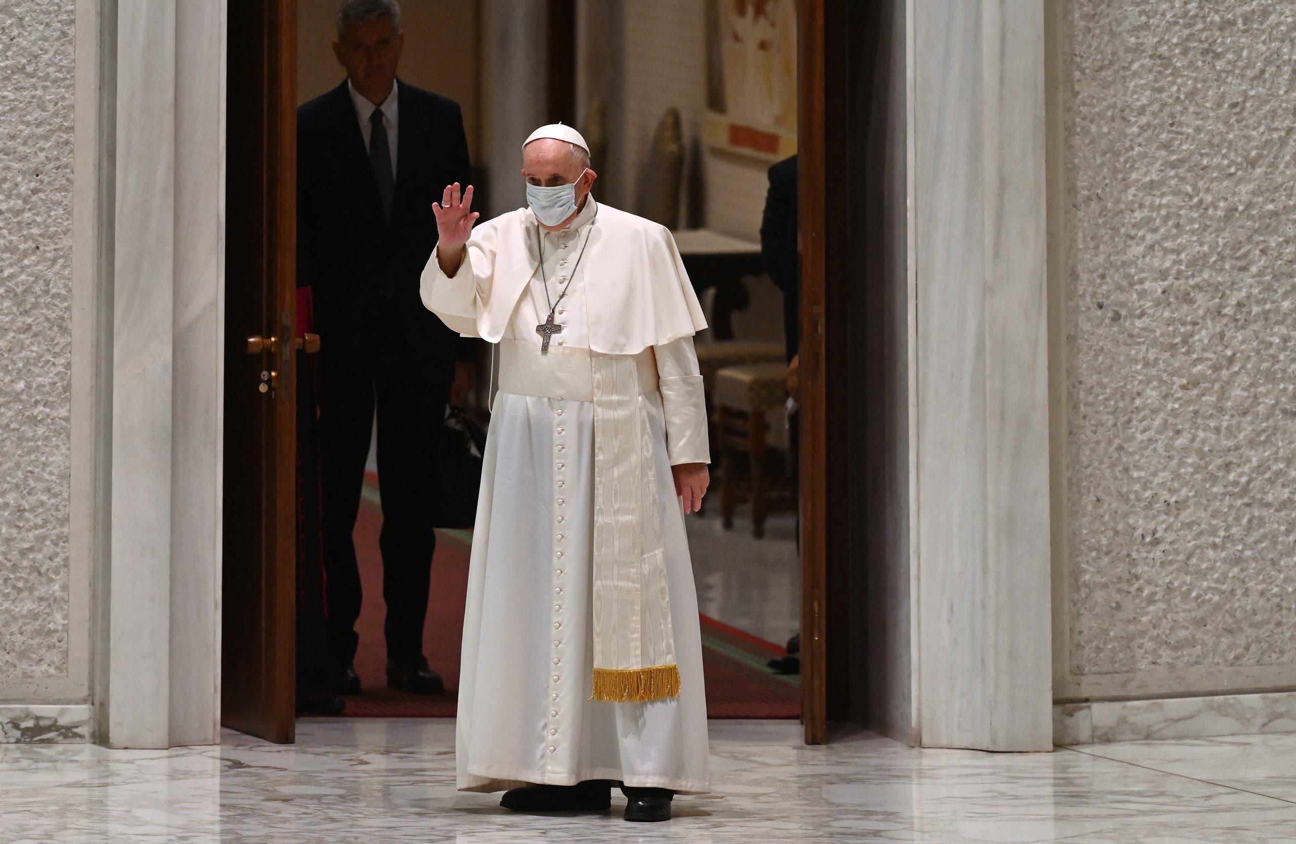البابا فرنسيس اليوم في الفاتيكان