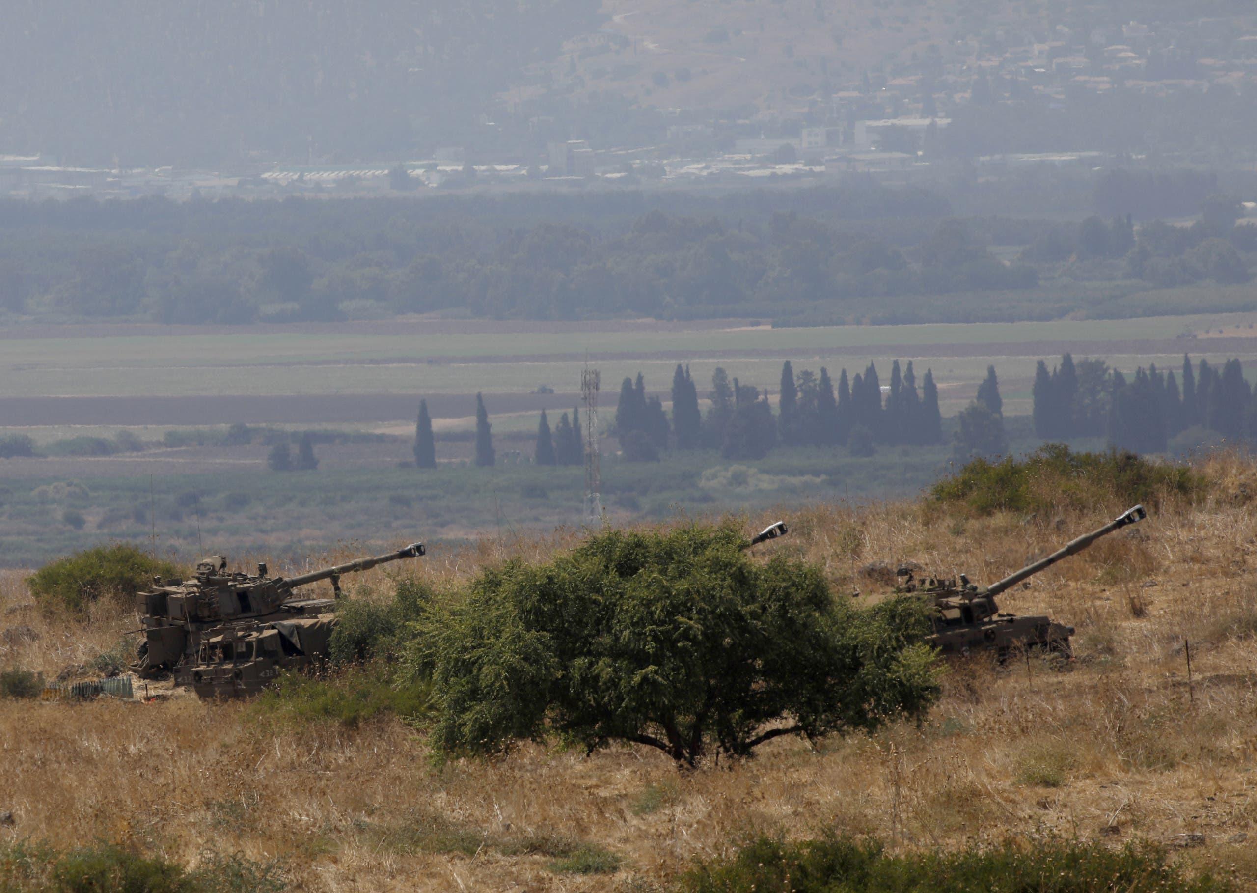 توپخانه ID در Kiryat Shmona (بایگانی)