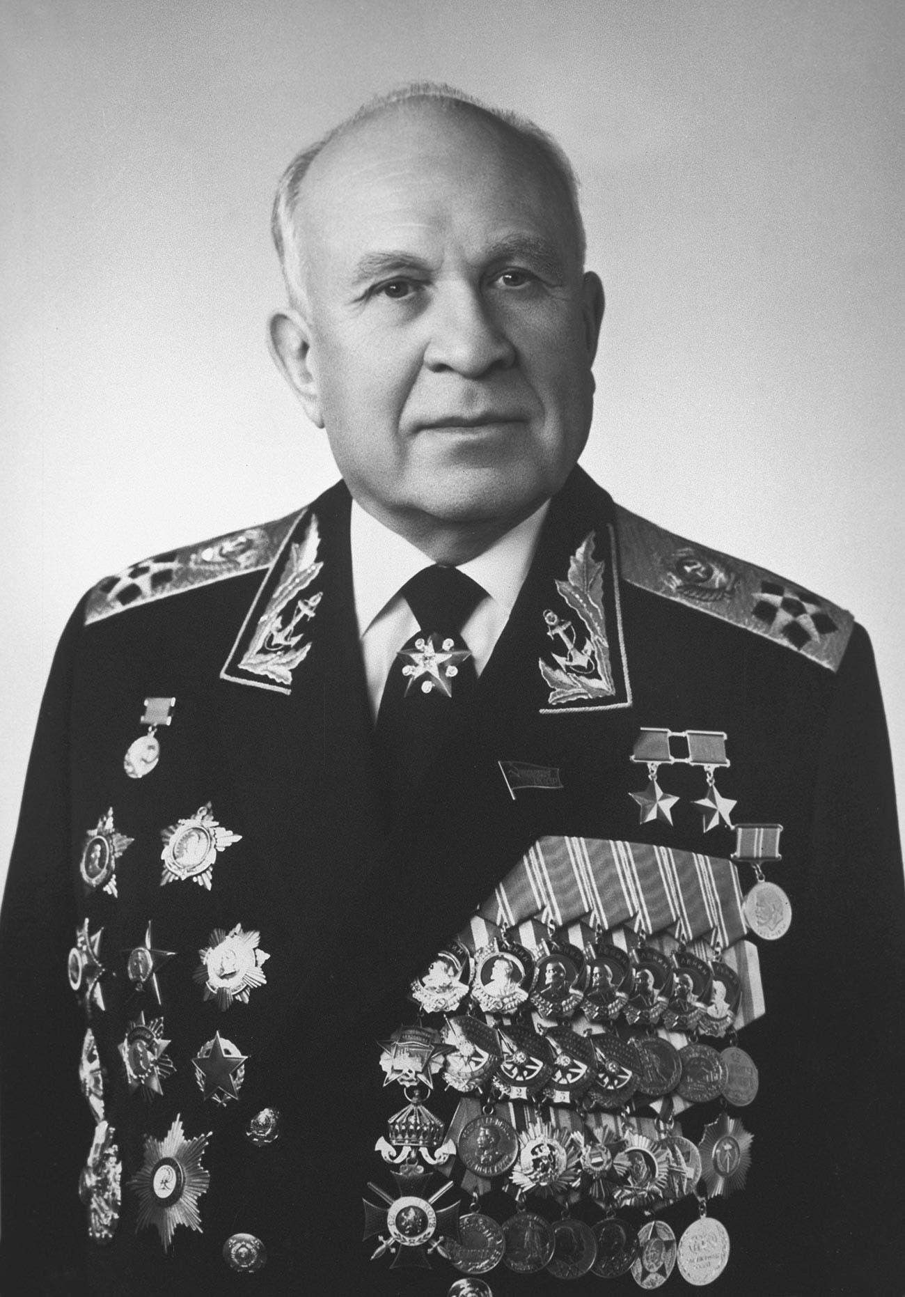 صورة للأميرال غورشكوف