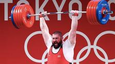 وزنهبرداری المپیک؛ ادامه رکوردشکنیهای غول گرجستانی اینبار در توکیو