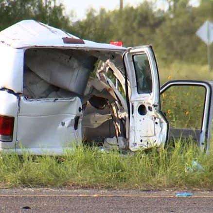 تحطم شاحنة تقل مهاجرين في ولاية تكساس.. ومقتل 10