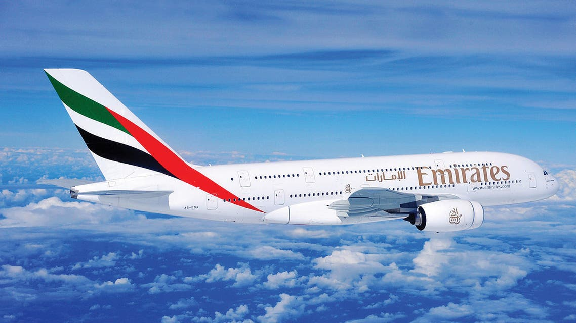 File photo depicting an Emirates aircraft. (Supplied)