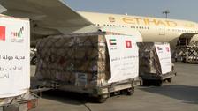 متحدہ عرب امارات کی طرف سے تونس کو 47 ٹن میڈیکل سپلائز کی فراہمی