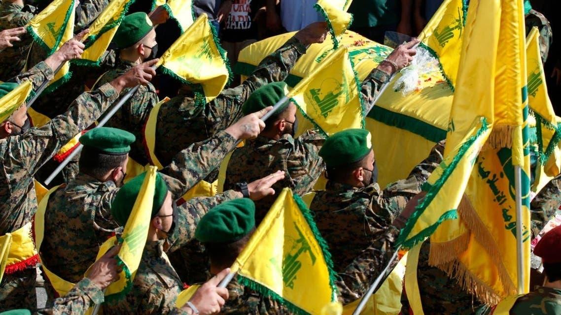 عناصر گروه شبهنظامی حزبالله