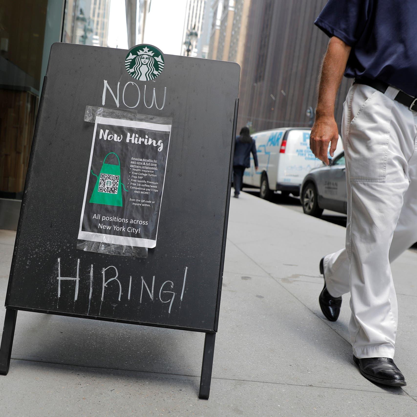 نمو قوي للوظائف الأميركية..البطالة تهبط إلى 5.4%
