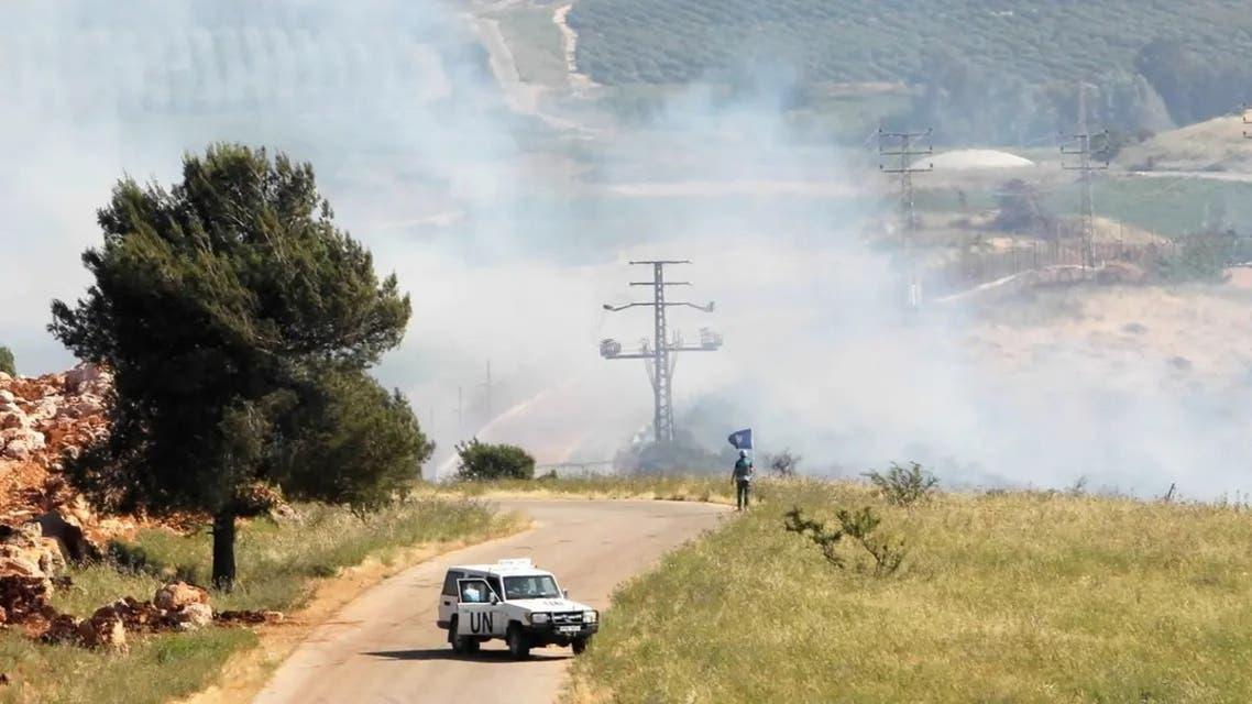 نیروهای سازمان ملل در مرز لبنان و اسرائیل