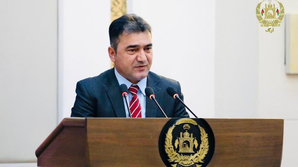 دواخان مینه پال رییس اطلاعات حکومت افغانستان