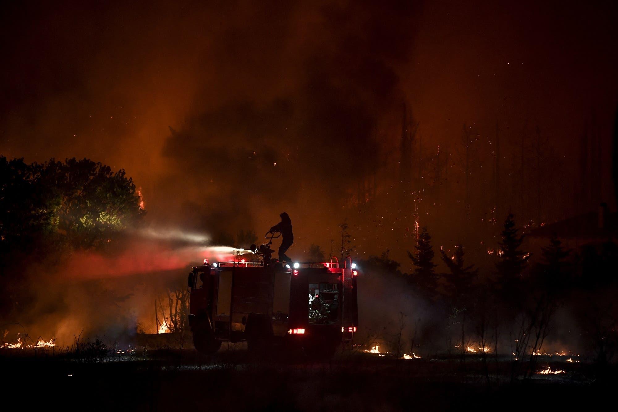 حرائق شمال أثينا (فرانس برس)