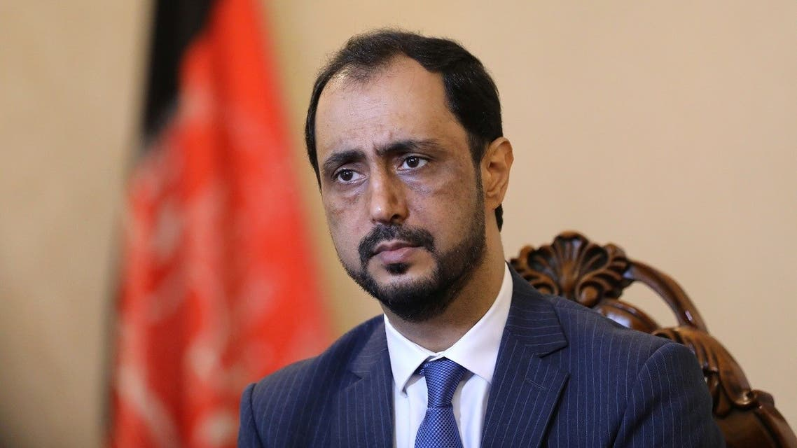 Javid Ahmad Qaem, Islamic Republic of Afghanistan's ambassador to China, attends an interview with Reuters at the embassy in Beijing, China, on August 5, 2021. (Reuters)