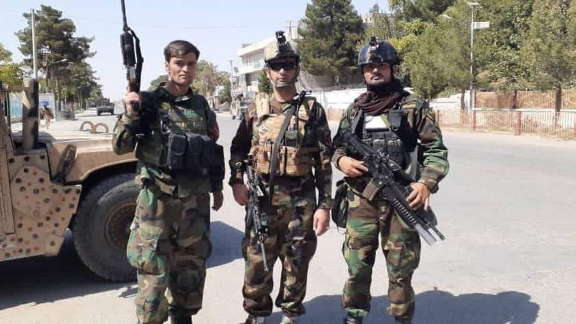 کوماندوهای افغان