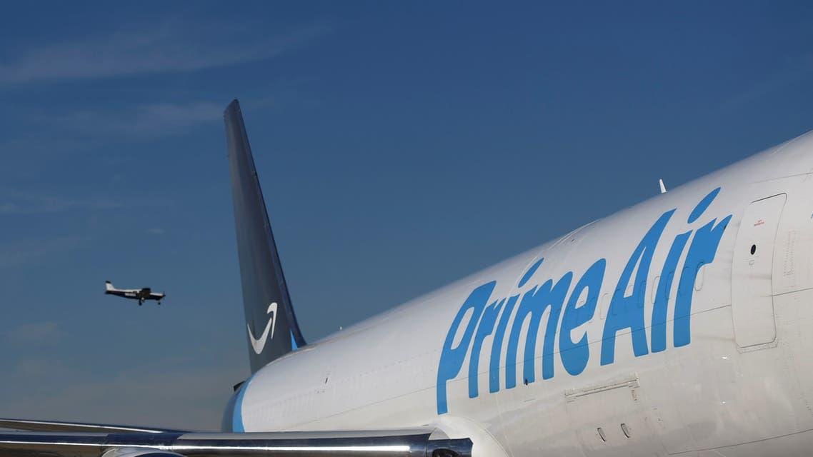 طائرة شحن تابعة لأمازون