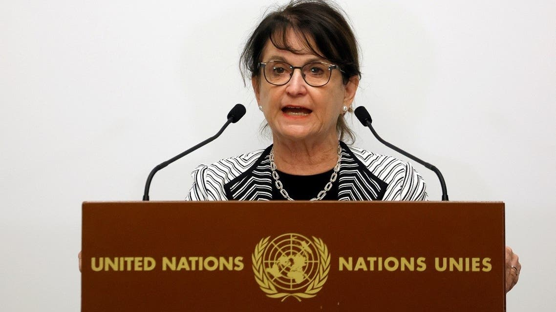 Deborah Lyons, Special Representative of the Secretary General of the United Nations for Afghanistan. (Reuters)