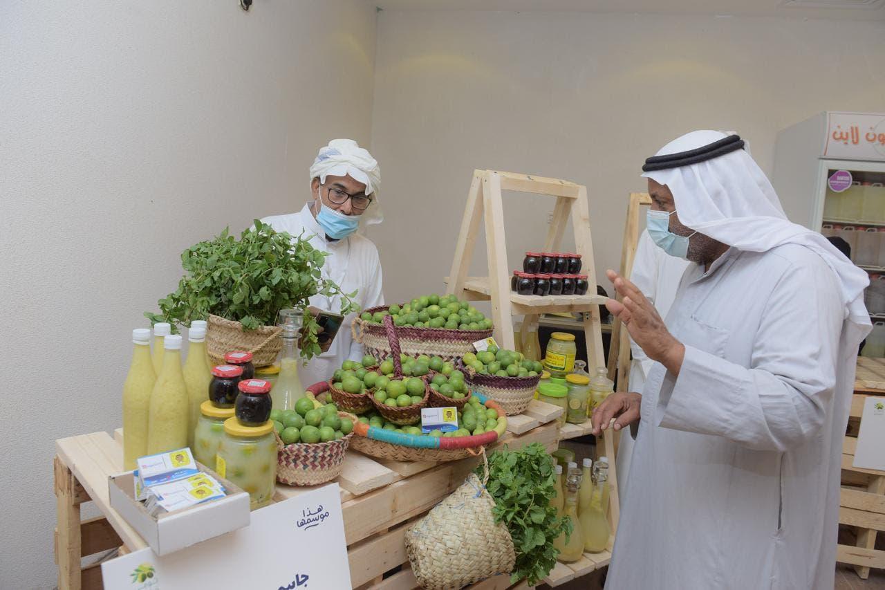 مزراع مشاركة في مهرجان اللومي الحساوي