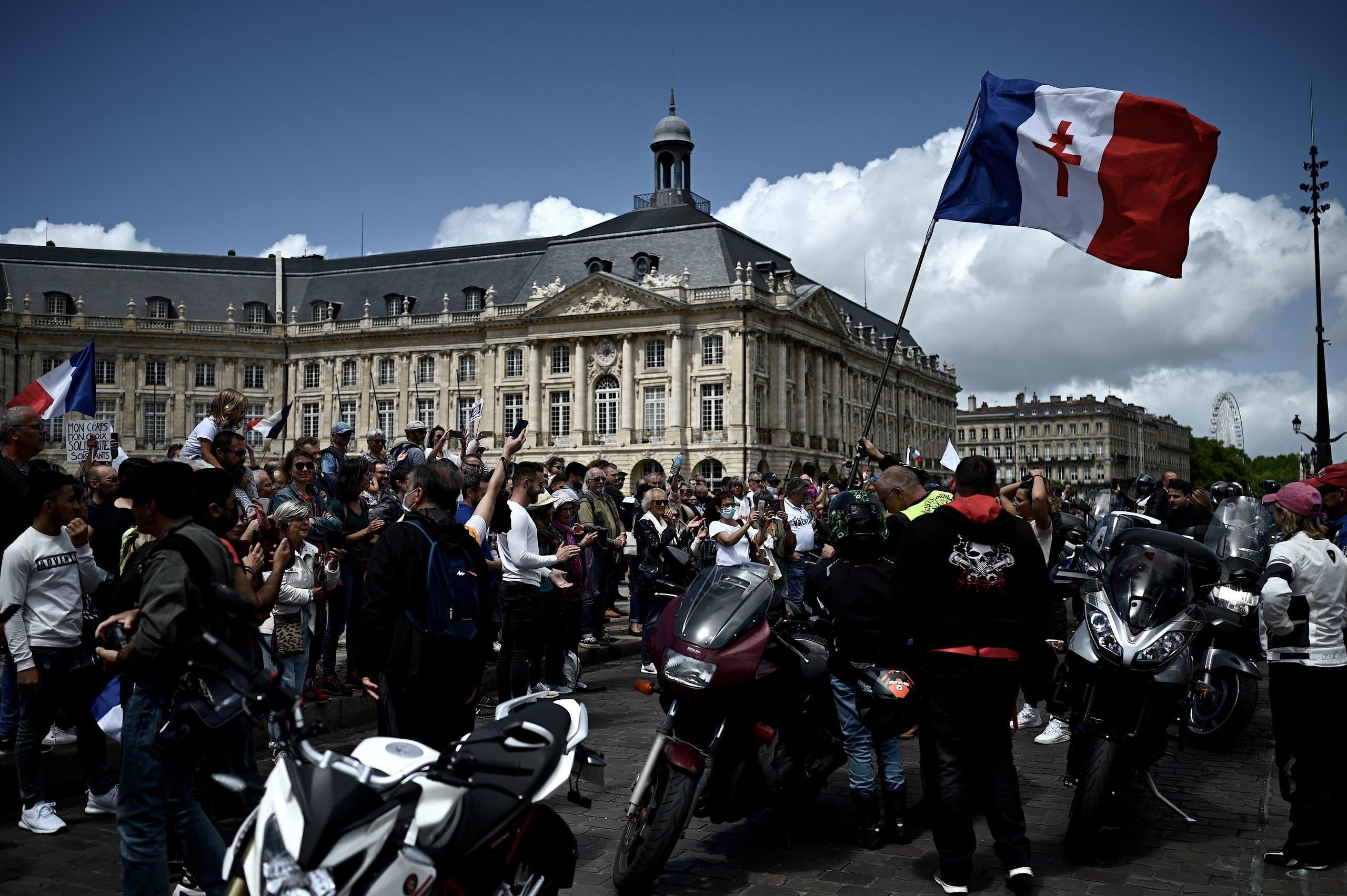 من تظاهرات فرنسا (فرانس برس)