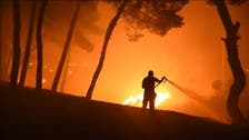 Blaze rages north of Athens on fifth day of Greece wildfires