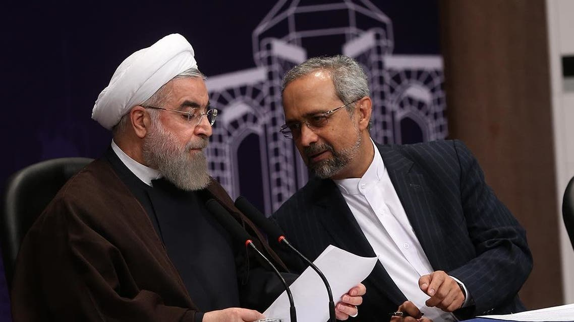 محمد نهاوندیان و حسن روحانی