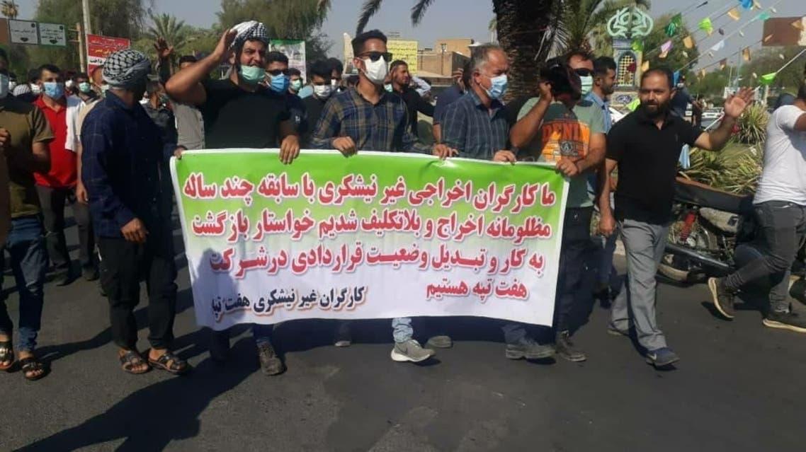 اعتصاب کارگران نیشکر هفتتپه