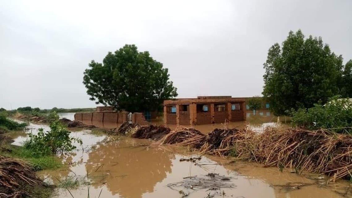 Flooding in Sudan. (Twitter)