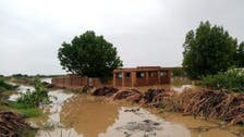 Sudan floods caused by heavy rain damage thousands of homes
