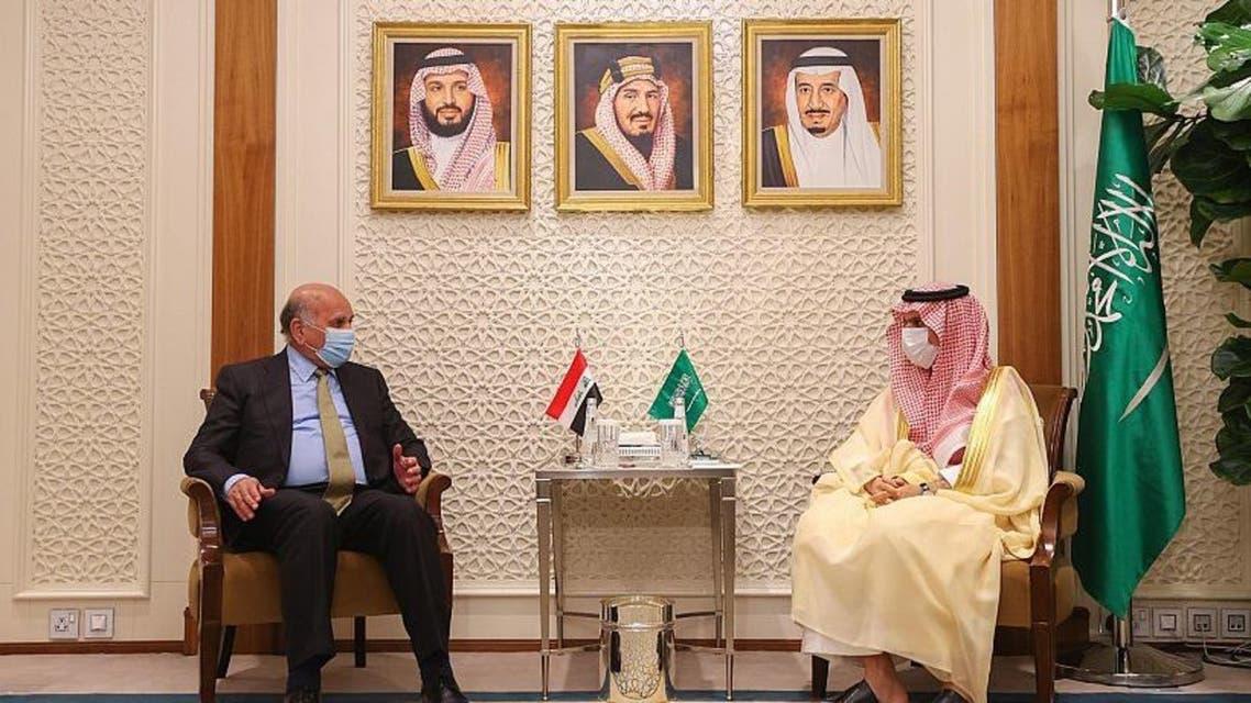 وزير خارجية السعودية يستقبل وزير خارجية العراق
