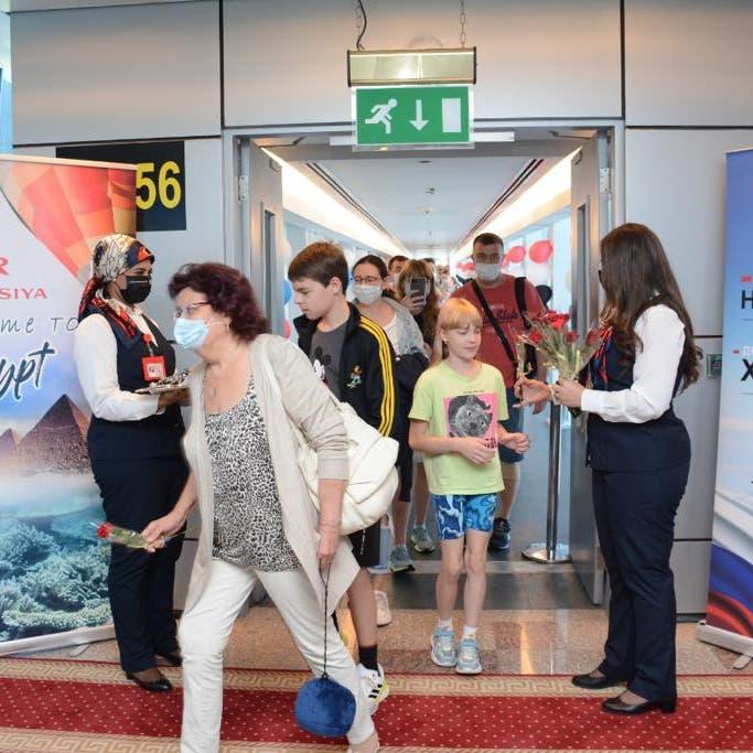 مصر تستقبل أول رحلة طيران مباشرة من روسيا للغردقة في 6 سنوات