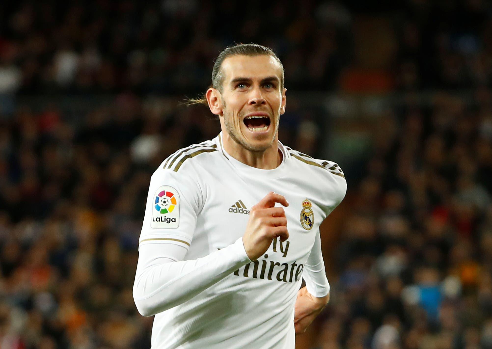 Soccer Football - La Liga Santander - Real Madrid v Athletic Bilbao - Santiago Bernabeu, Madrid, Spain - December 22, 2019 Real Madrid's Gareth Bale. (Reuters)
