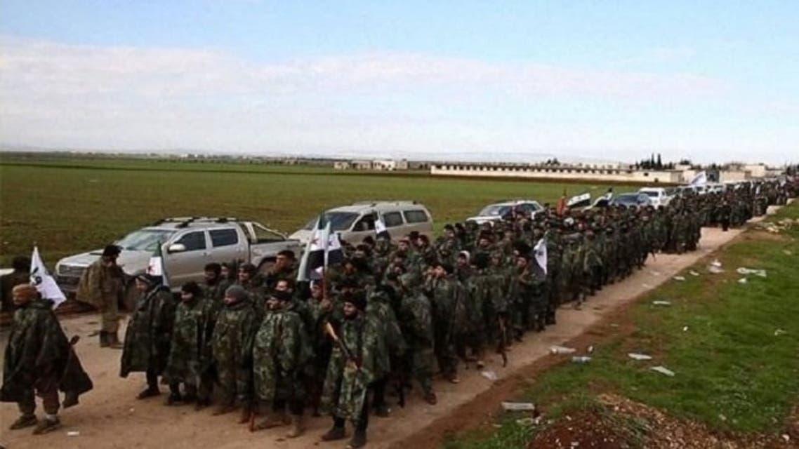 فصائل موالية ل تركيا ارسال مرتزقة الى ليبيا