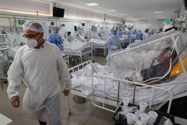"""مرضى كورونا بالمستشفيات """"تعبيرية"""""""