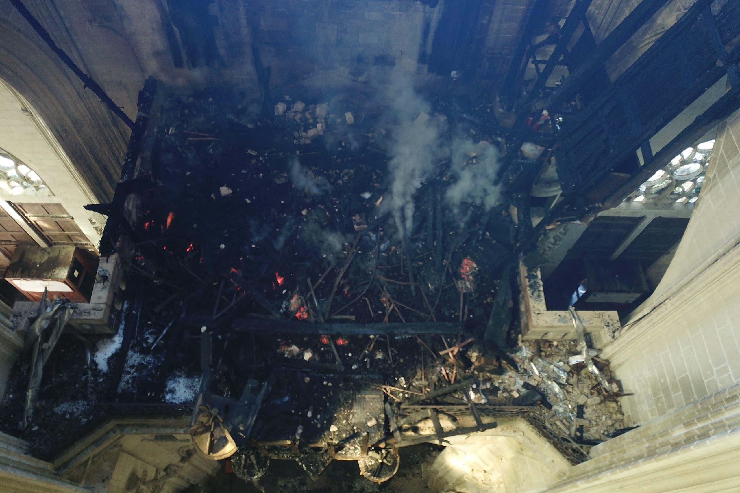 حريق كاتدرائية نانت