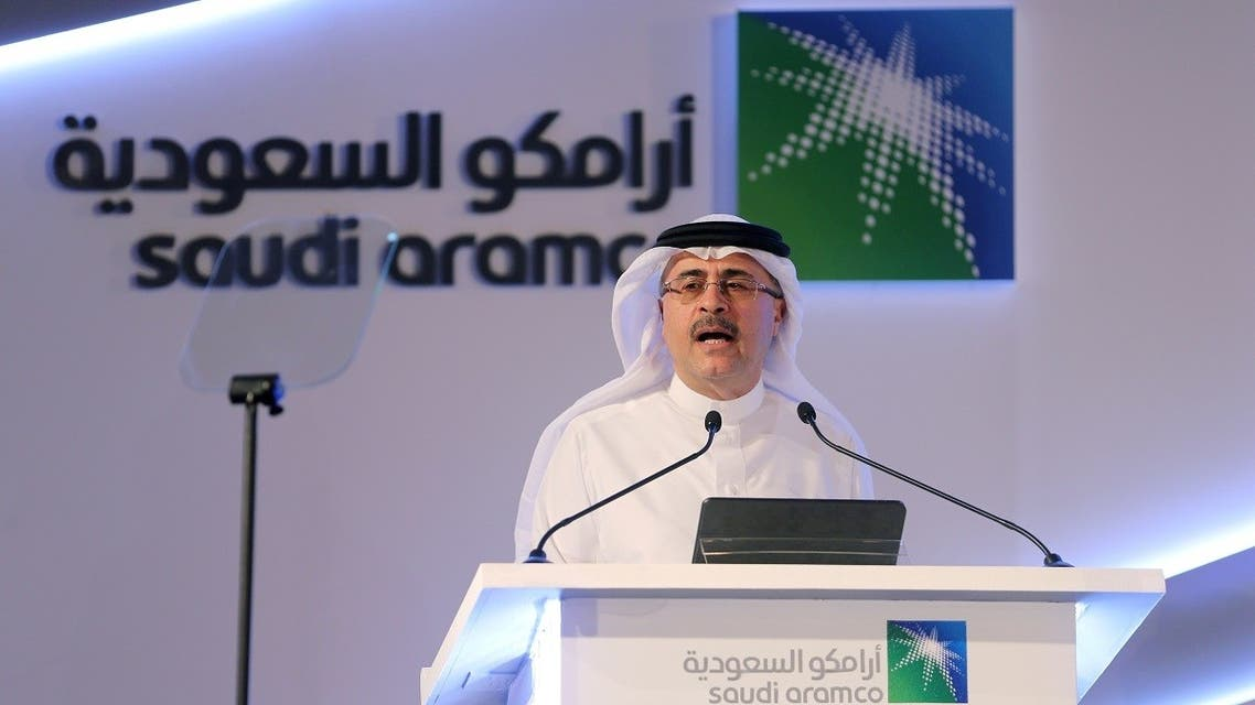 Amin H. Nasser, CEO of Saudi Aramco, speaks during a news conference at the Plaza Conference Center in Dhahran, Saudi Arabia. (File photo: Reuters)