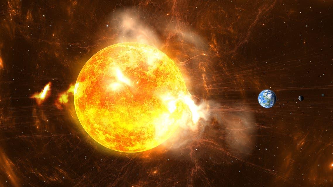 2 الانفجار الشمسي
